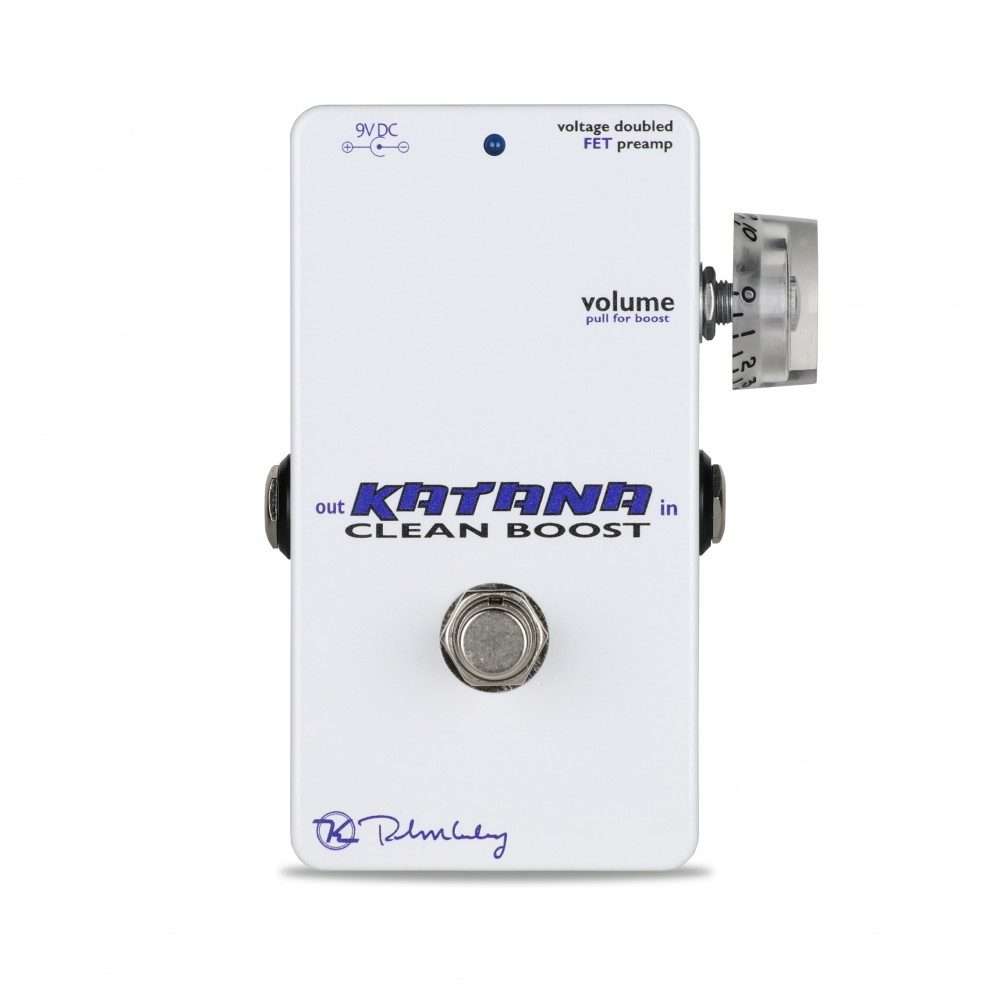 Keeley Electronics Katana Clean Boost Pedal Front