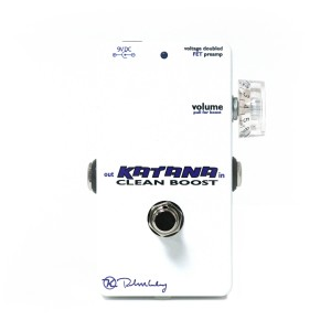 Keeley Electronics Katana Clean Boost Effects Pedal
