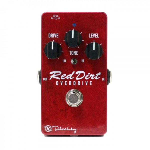 Keeley Electronics Red Dirt Overdrive Pedal Front