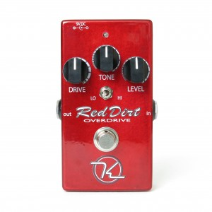 Keeley Electronics Red Dirt Overdrive Effect Pedal Front