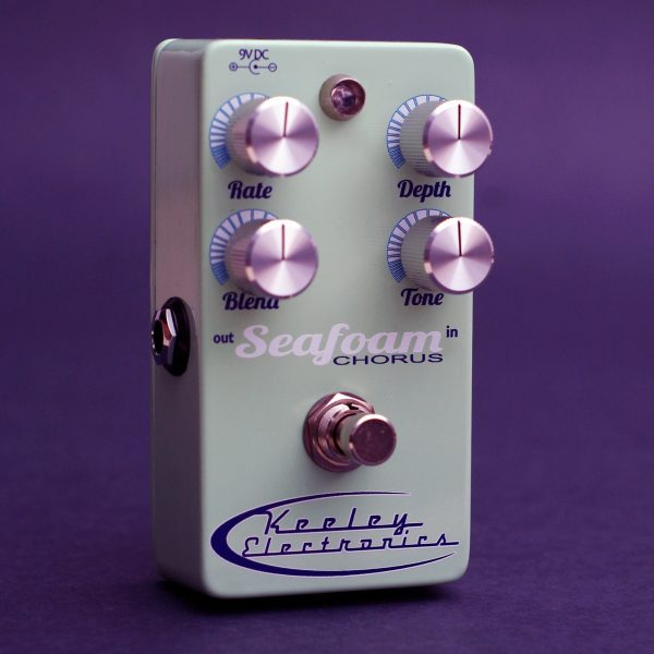 Keeley Seafoam Chorus and Vibrato