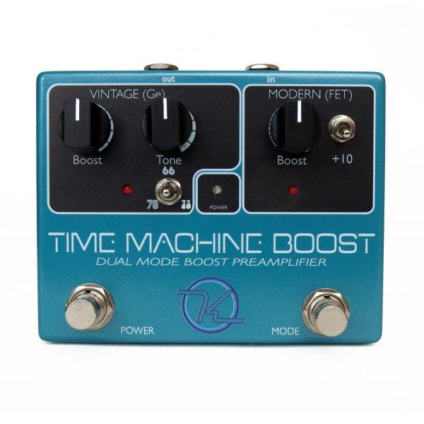 Keeley Time Machine Dual Channel Boost