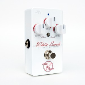 Keeley Electronics White Sands Overdrive Pedal Hero
