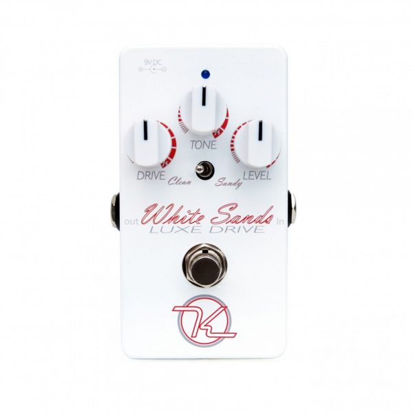 Keeley Electronics White Sands Overdrive Pedal Front