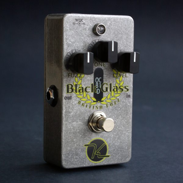 Keeley Black Glass British Fuzz - 2014 Limited Edition OC81D