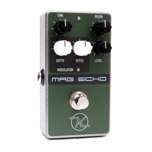 Keeley Electronics Mag Echo Delay Effect Pedal Angle