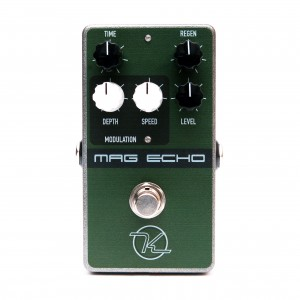 Keeley Electronics Mag Echo Delay Effect Pedal Front