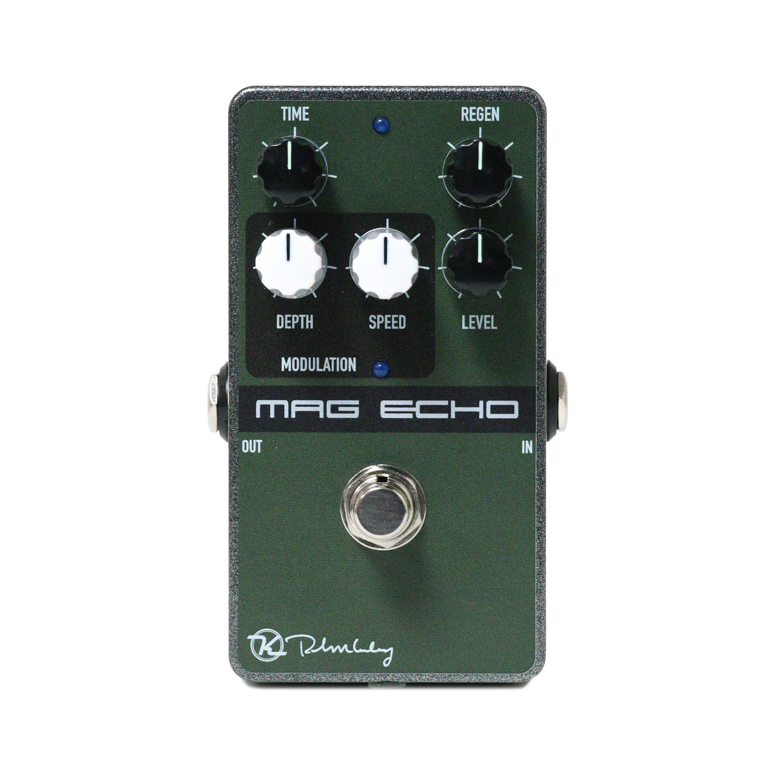 Keeley Magnetic Modulated Tape Echo Delay Modulation Guitar Effects Pedal