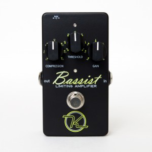 Keeley Electronics Bassist Limiting Amplifier Effect Pedal Front