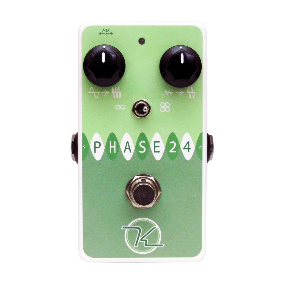 Keeley Electronics Phase 24 Effect Pedal Front