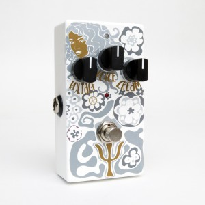 Keeley Psi Fuzz Op Amp Muff Fuzz Limited Edition Gold Grey White