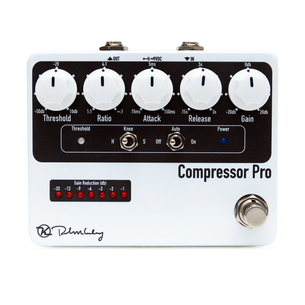 COMPRESSOR Pro White Grey Face Keeley