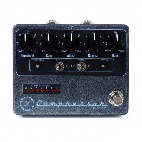 Keeley Compressor Pro Pedal Face