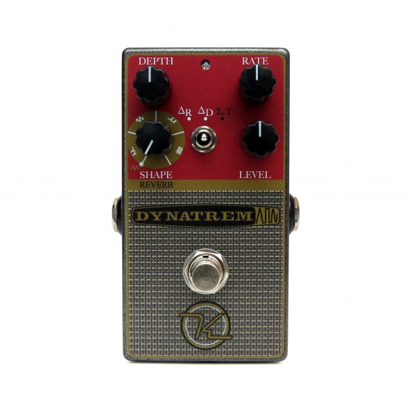 Keeley Dynatrem Dynamic Tremolo Reverb Effect Pedal