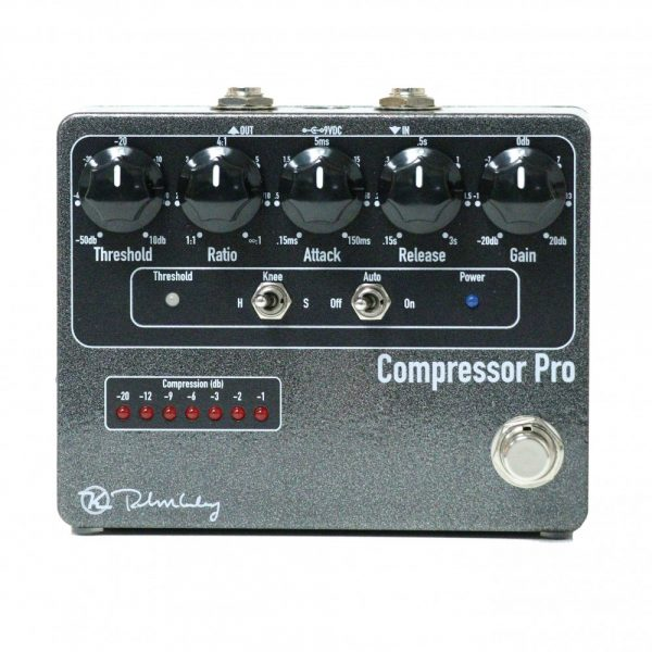 Keeley Electronics Compressor Pro Pedal Front