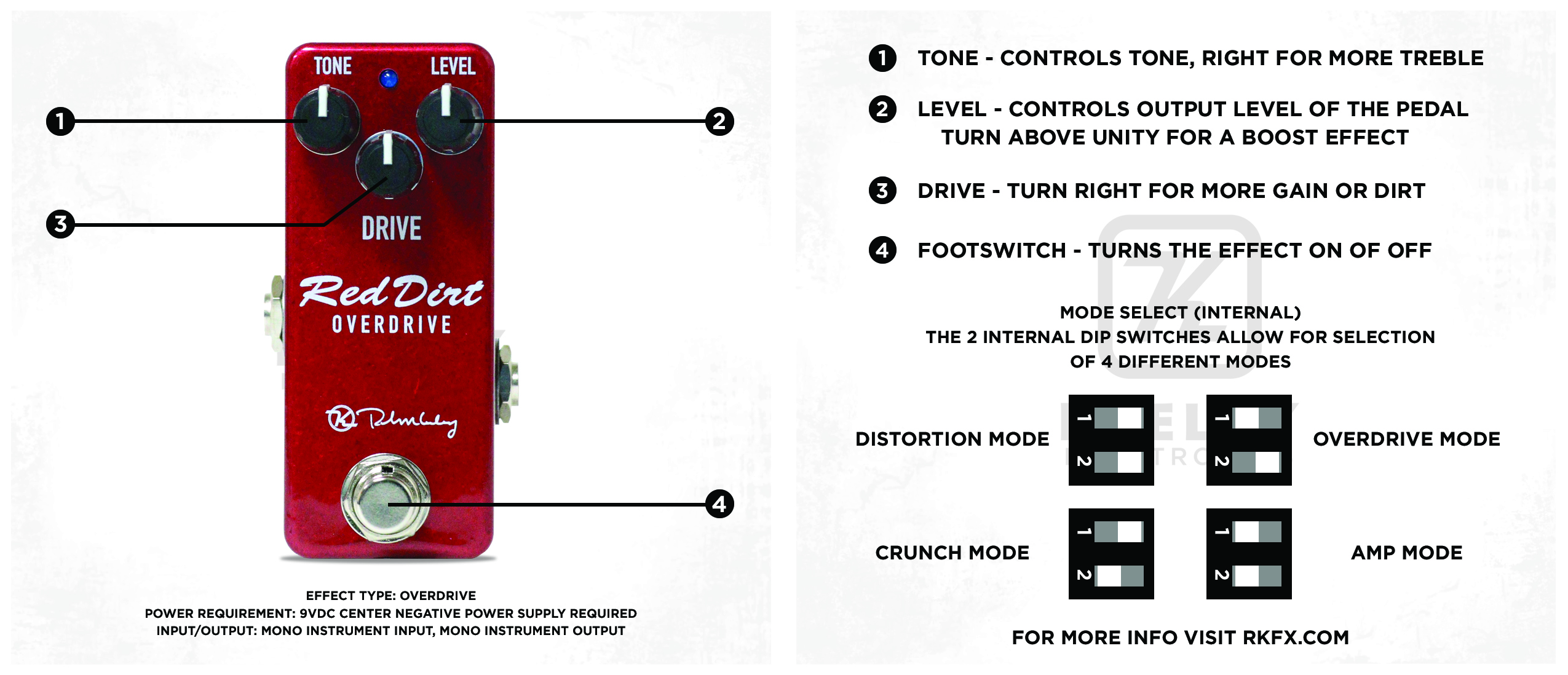 Red Dirt Mini Keeley Overdrive