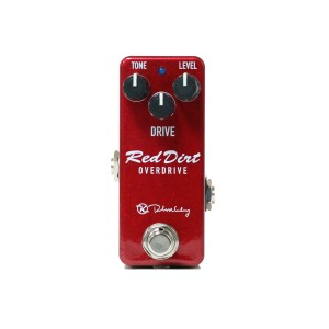 Keeley Electronics Red Dirt Overdrive Mini Pedal Front