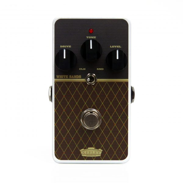 Keeley White Sands Overdrive AC 15 30 Color Scheme Effect Pedal