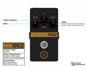Keeley 1962 Overdrive Instructions