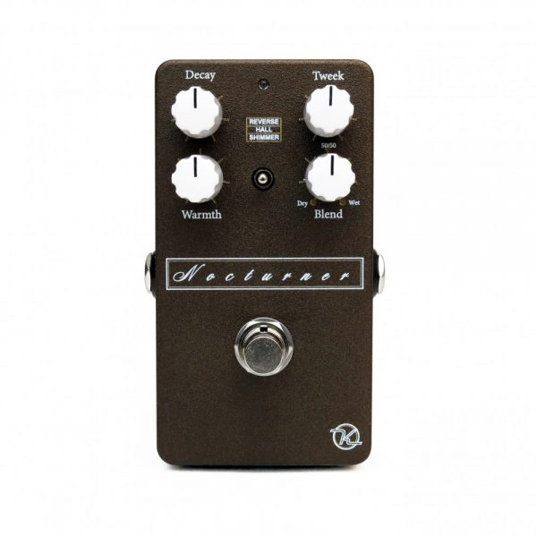 Keeley Nocturner Dark Reverb Effect Pedal Hero