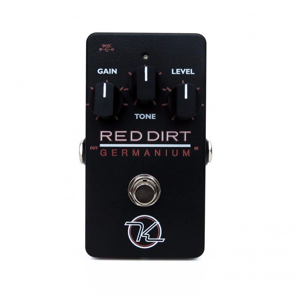 Keeley Electronics Red Dirt Germanium Overdrive Effects Pedal