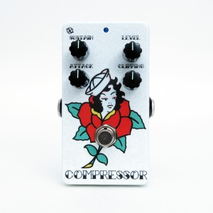 Keeley Electronics C4 Compressor Tanner Frady Valentines Face No 3