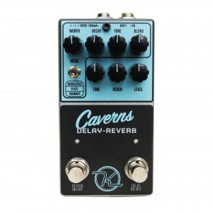 Keeley Caverns Reverb Delay Effect Pedal