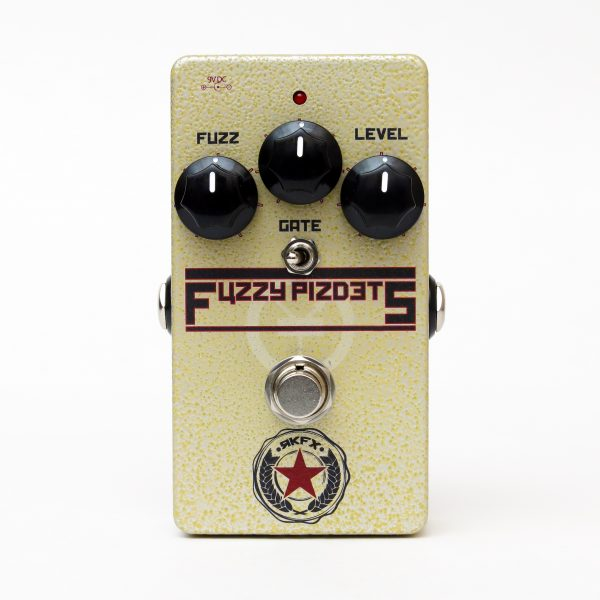 Hand made by Robert Keeley.  Two transistor fuzz.  Russian Germanium Transistors.