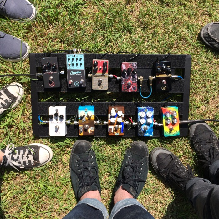 Keeley Pedal Board Pictures