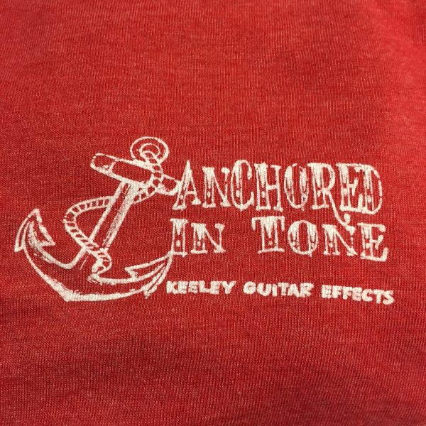 Vintage Red Keeley Anchor Shirt