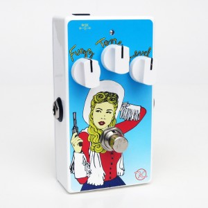 Keeley Siver Bullet Fuzz Limited Edition Erin Lofties Cowgirl Art