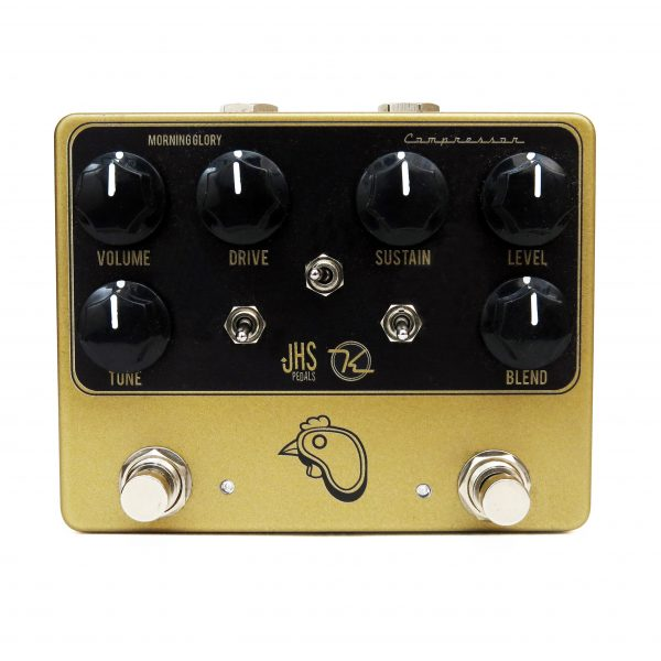 Steak and Eggs Overdrive Compresso Effect Pedal Keeley JHS