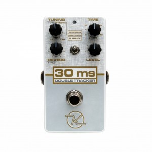Keeley 30MS ADT Double Tracker Chorus Reverb Effect Pedal Limited Edition White