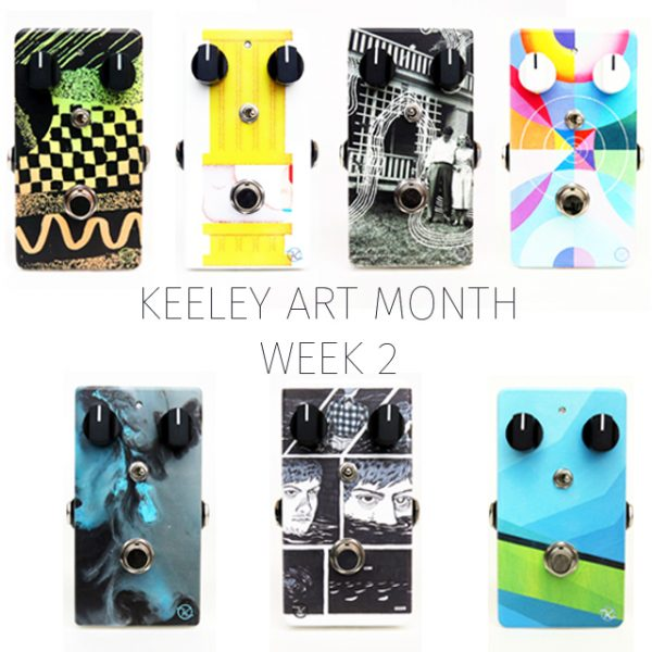 Keeley Effect Pedals