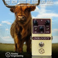 Keeley Oxblood Overdrive Ad by Brett Petrusek