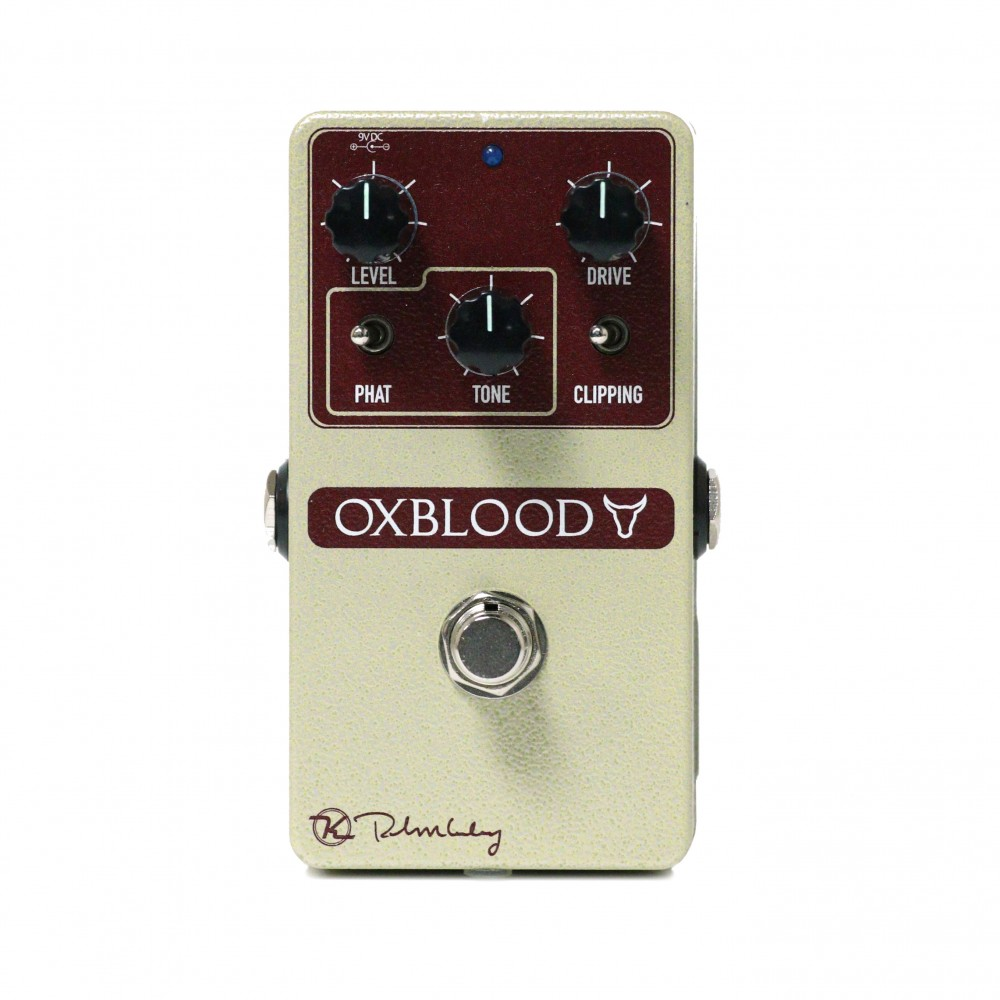 Keeley Electronics Oxblood Overdrive Pedal Front