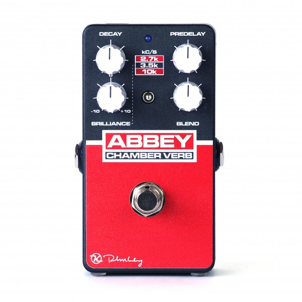 Keeley Electronics Abbey Chamber Verb Effects Pedal
