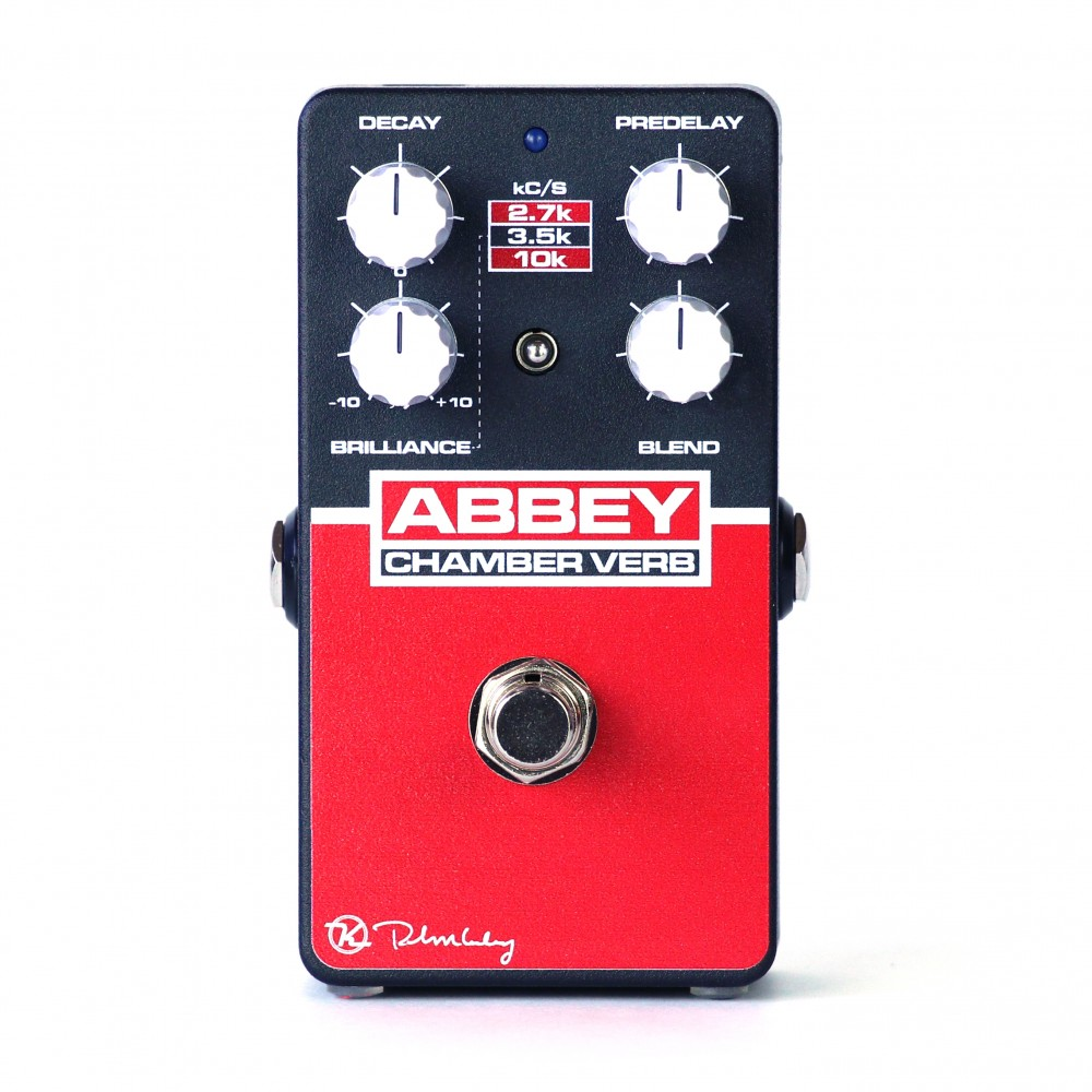 Keeley Electronics Abbey Chamber Verb Pedal Front