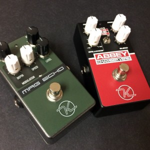 Keeley Mag Echo Abbey Chamber Reverb Effects Pedals