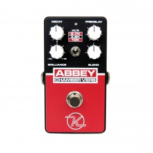 Keeley Abbey Chamber Verb Reverb Effect Pedal