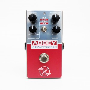 Keeley Abbey Studio Echo Chamber Reverb Special Edition Chrome