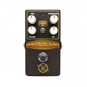 Keeley Electronics Memphis Sun Vintage Voiced Studio Reverb Double Tracker Effect Pedal