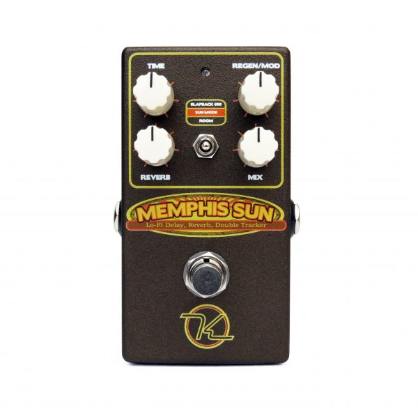 Keeley Memphis Sun Vintage Voiced Studio Reverb Double Tracker Effect PEdal