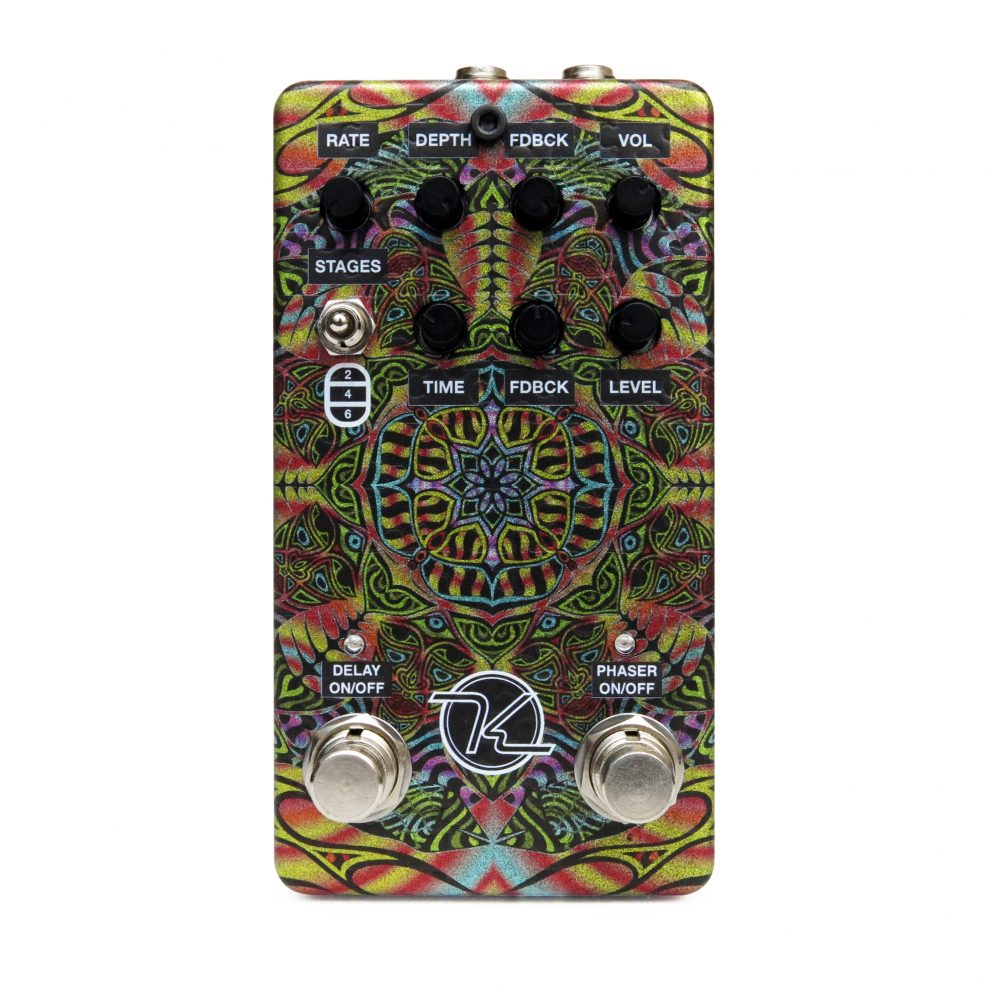 Keeley Jimmi Hazel Echo Phase Effect Pedal