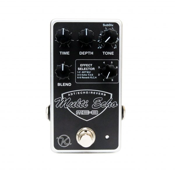 Keeley ME-8 8 Effect Echo Double Tracker Reverb