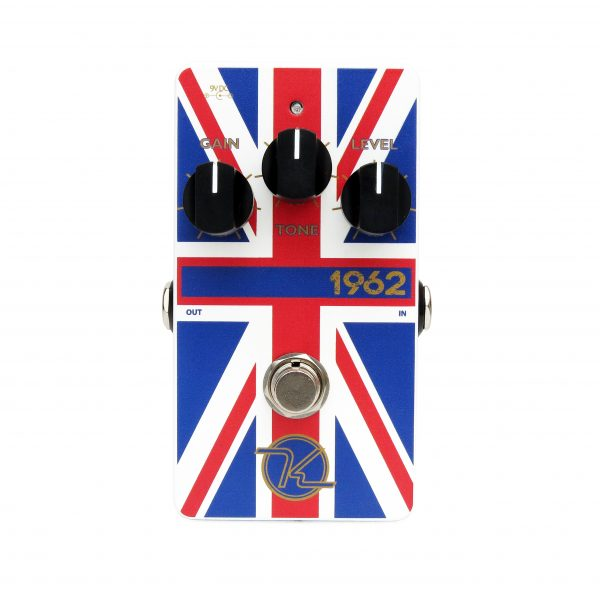 Keeley 1962 Overdrive Limited Edition Union Jack Finish