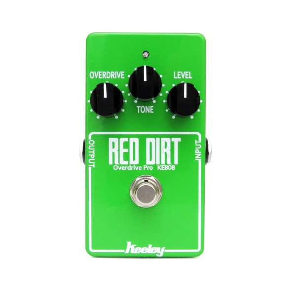 Red Dirt Overdrive Limited Edition KE-808 Version John Petrucci Pro Mode