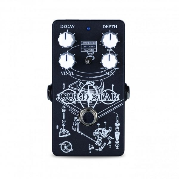 Keeley Electronics Gold Star Reverb Pedal Front
