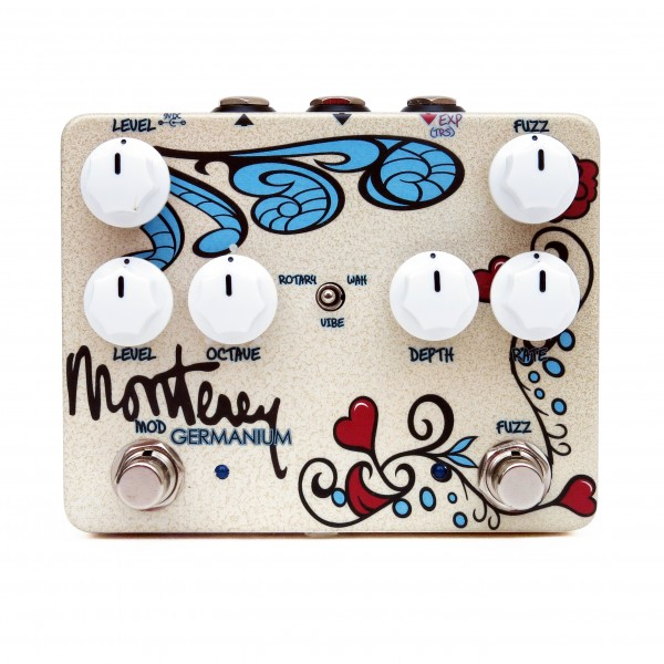 Keeley Monterey Germanium Special White on White with HAnd Label