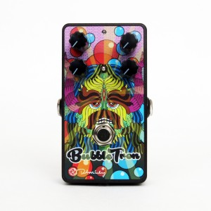Bubble Tron Pedal with Artwork by Jake Blanchard